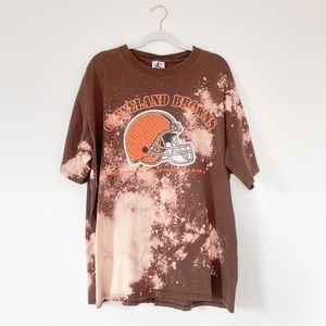 Cleveland Browns XL Custom Dyed Vintage Tee